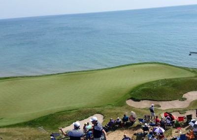 Whistling Straits Straits Course 2015 PGA Hole 17 Green