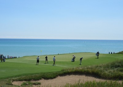 Whistling Straits Straits Course 2015 PGA Hole 2 Green