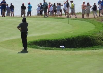 Whistling Straits Straits Course 2015 PGA Hole 6 Bunker