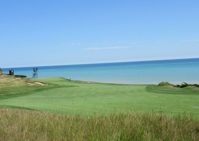 Whistling Straits Straits Course 2015 PGA Hole 8 Approach