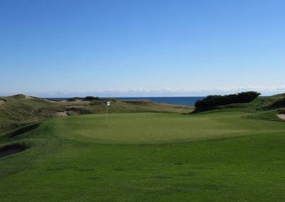 Whistling Straits - Straits Course Hole 1 Outward Bound Green