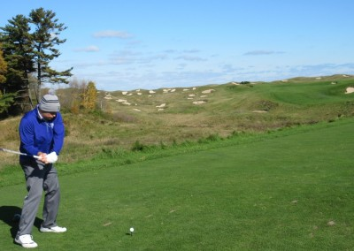 Whistling Straits - Straits Course Hole 10 Voyageur Tee