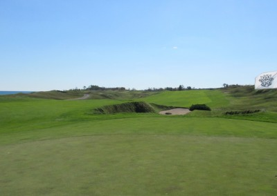 Whistling Straits - Straits Course Hole 11 Sand Box Bunker Green