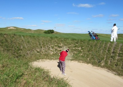 Whistling Straits - Straits Course Hole 11 Sand Box Bunker Shot