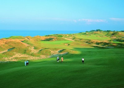 Whistling Straits Straits Course Hole 14 Approach