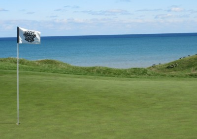 Whistling Straits - Straits Course Hole 14 Widow's Walk Green