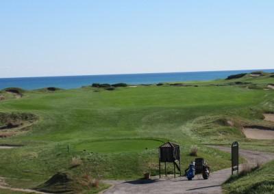 Whistling Straits - Straits Course Hole 15 Grand Strand