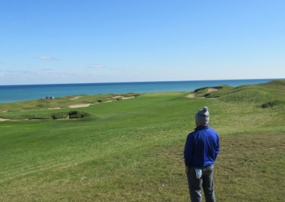 Whistling Straits - Straits Course Hole 15 Grand Strand Approach