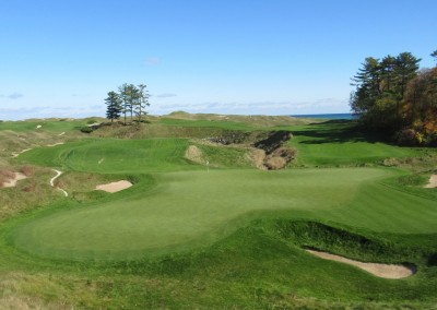 Whistling Straits - Straits Course Hole 18 Dyeabolical Green Complex 2