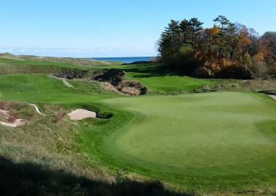 Whistling Straits - Straits Course Hole 18 Dyeabolical Green Complex
