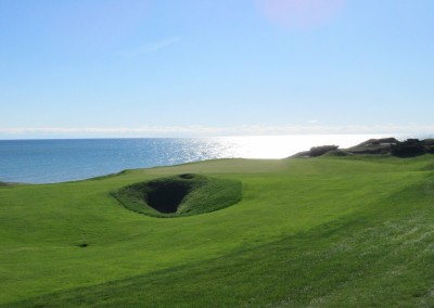 Whistling Straits - Straits Course Hole 2 Cross Country Green