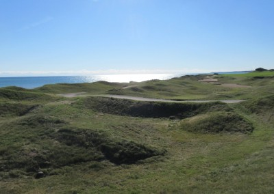 Whistling Straits - Straits Course Hole 2 Cross Country Left Rough