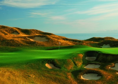 Whistling Straits Straits Course Hole 6 Green