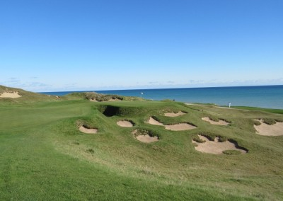 Whistling Straits - Straits Course Hole 6 Gremlin's Ear Approach 2