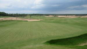 Sand Valley Golf Resort Hole 18 Green