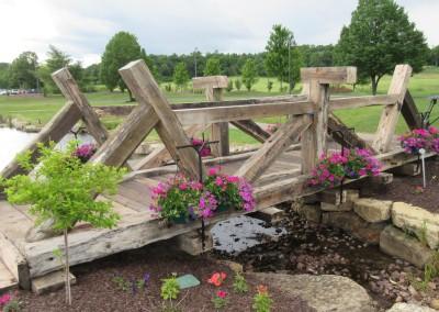 Trappers Turn Golf Club Arbor Hole 7 Bridge