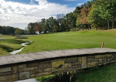 Trappers Turn Golf Club Canyon Hole 9 Bridge