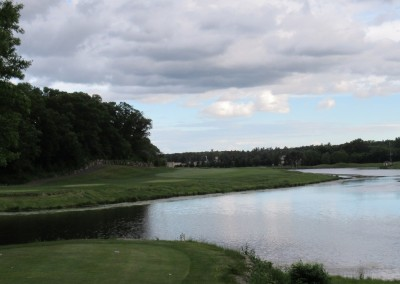 Trappers Turn Golf Club Lake Hole 1 Tee