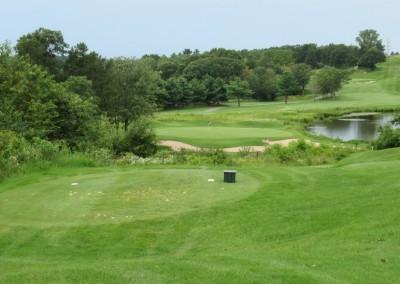 Trappers Turn Golf Club Lake Hole 4 Tee Shot
