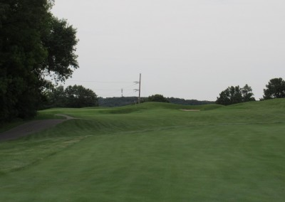 Trappers Turn Golf Club Lake Hole 8 Approach