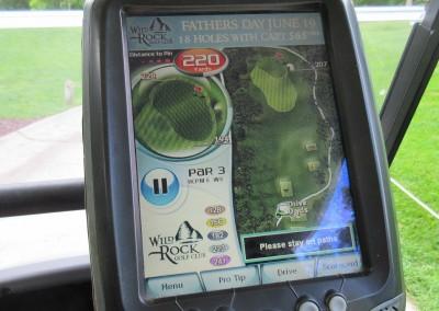 Wild Rock Golf Club Hole 11 GPS