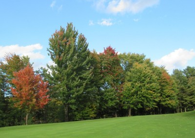 Bull's Eye Country Club Hole 18 Fall Colors