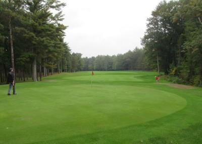 Bull's Eye Country Club Hole 3 Green