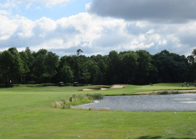 Lake Arrowhead Golf Course - Lakes Course - Hole 12 Approach