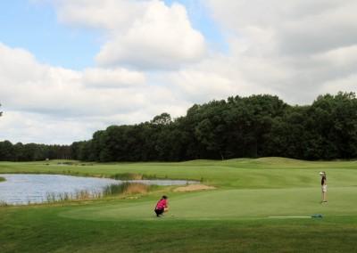 Lake Arrowhead Golf Course - Lakes Course - Hole 12 Green