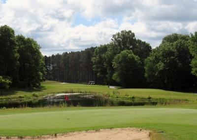Lake Arrowhead Golf Course - Lakes Course - Hole 16 Green