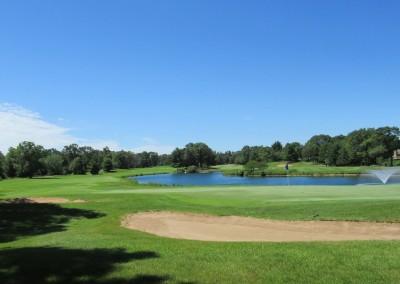 Lake Arrowhead Golf Course - Pines Course - Hole 9 Green