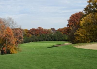 Naga-Waukee Golf Course Hole 10 Approach