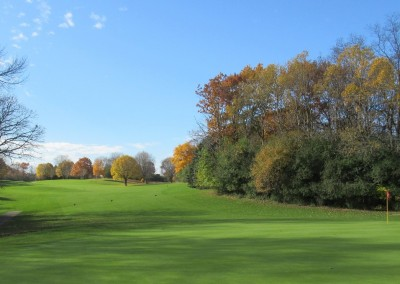 Naga-Waukee Golf Course Hole 12 Green
