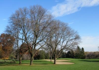 Naga-Waukee Golf Course Hole 14 Approach
