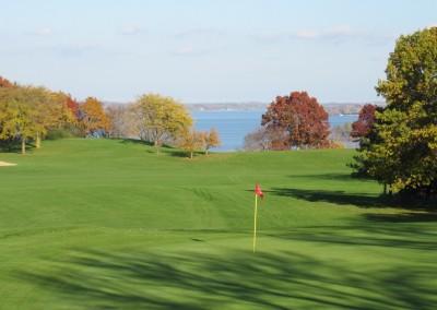 Naga-Waukee Golf Course Hole 18 Green