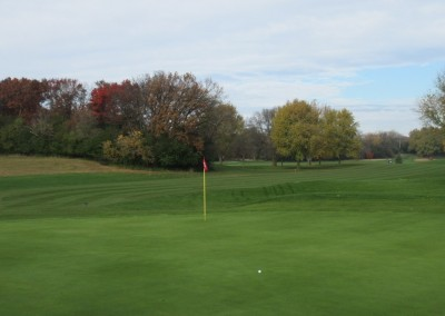 Naga-Waukee Golf Course Hole 2 Green