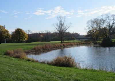 Naga-Waukee Golf Course Hole 4 Approach