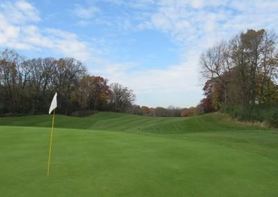 Naga-Waukee Golf Course Hole 9 Green