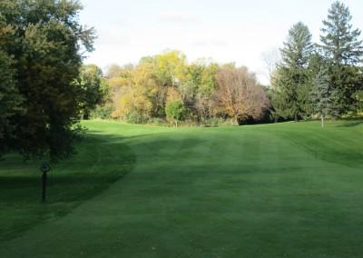 Old Hickory Golf Club Hole 9 Dogleg