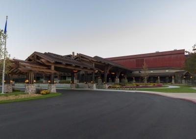 SentryWorld Clubhouse Entrance