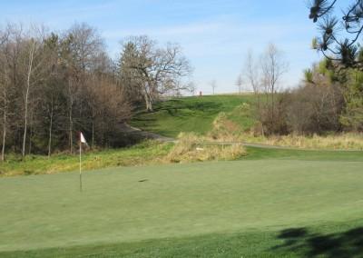 The Oaks Golf Course Hole 10 Green