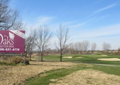 The Oaks Golf Course Hole 11 Approach