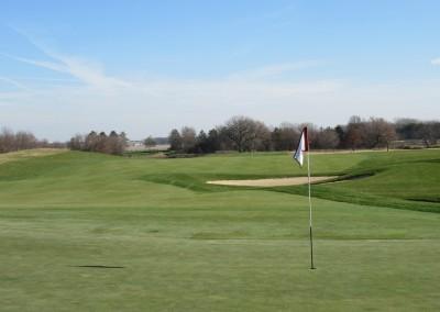 The Oaks Golf Course Hole 11 Green