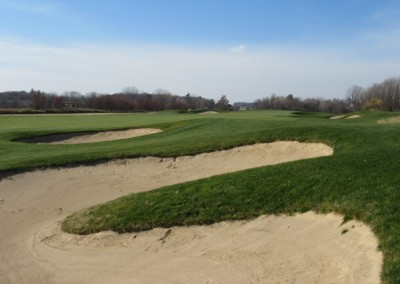 The Oaks Golf Course Hole 12 Approach