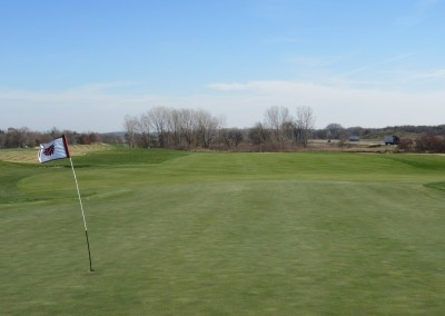 The Oaks Golf Course Hole 12 Green