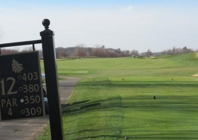 The Oaks Golf Course Hole 12 Tee