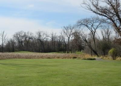 The Oaks Golf Course Hole 14 Approach