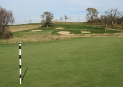 The Oaks Golf Course Hole 18 Approach 2