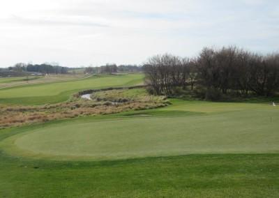 The Oaks Golf Course Hole 18 Green 2