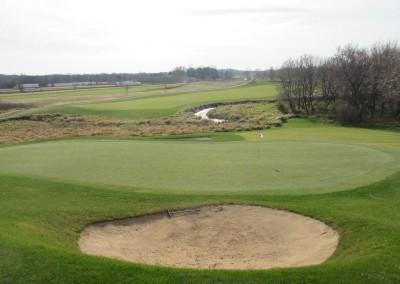 The Oaks Golf Course Hole 18 Green 3